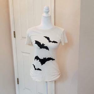NWT Wildfox Bat Attack Tee